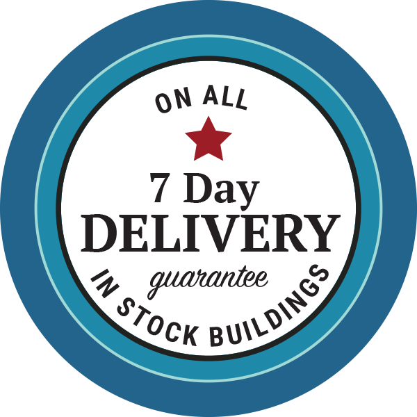 7 day delivery shed guarantee