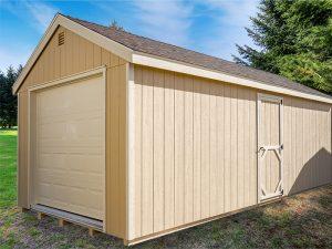 large single car garage shed