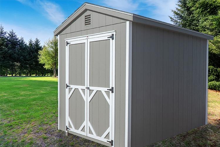 A Frame Backyard shed