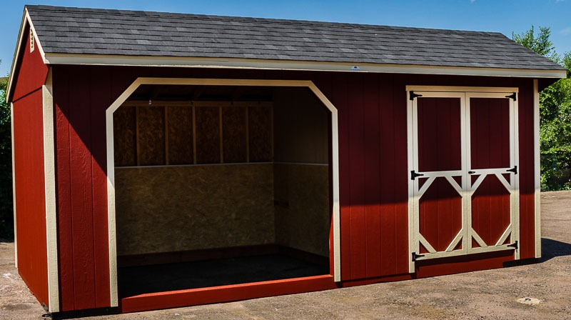 Animal shelter shed