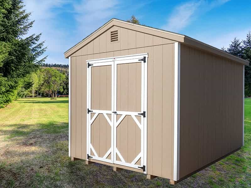 Classic A Frame Shed Buskskin