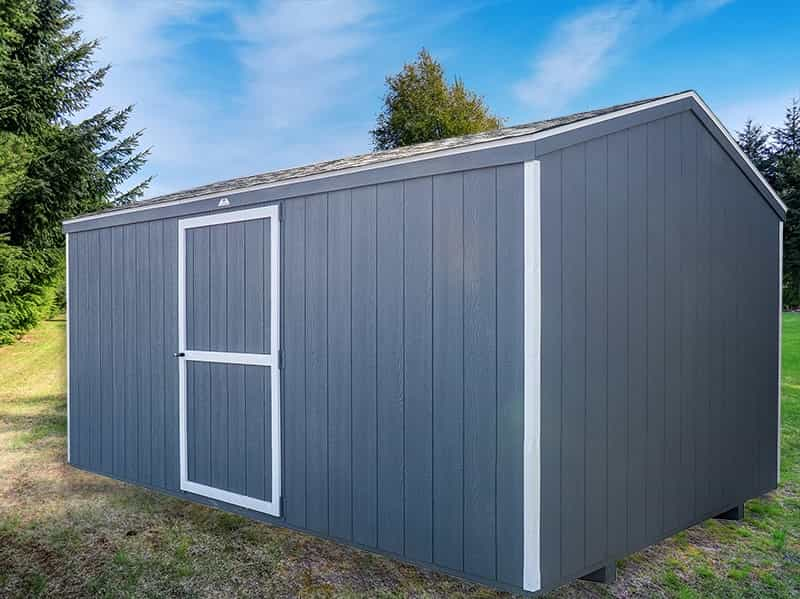 economy grey storage shed