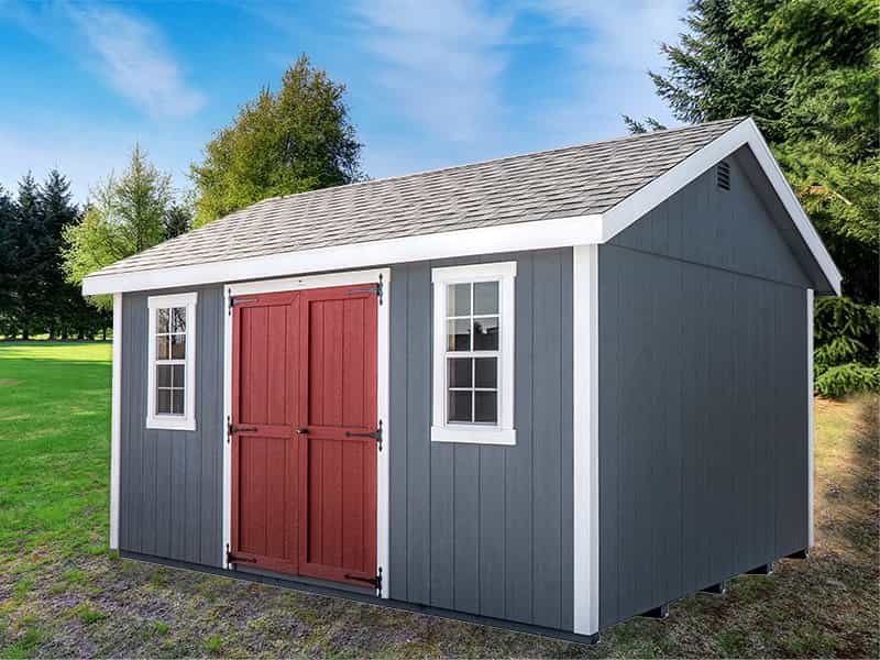 Classic Storage Shed Gray