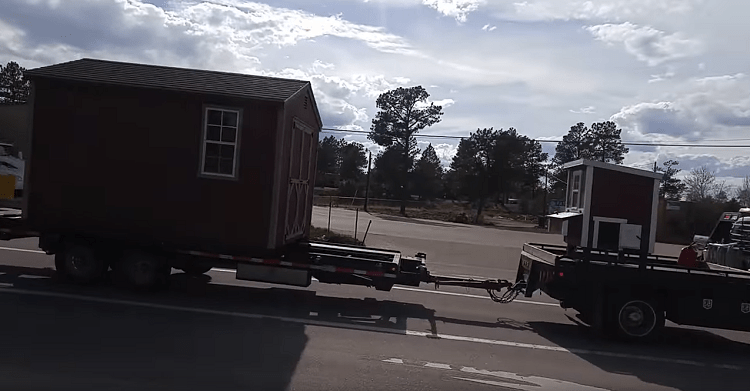 Free Shed Delivery in Colorado