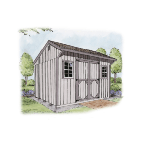 the quaker shed