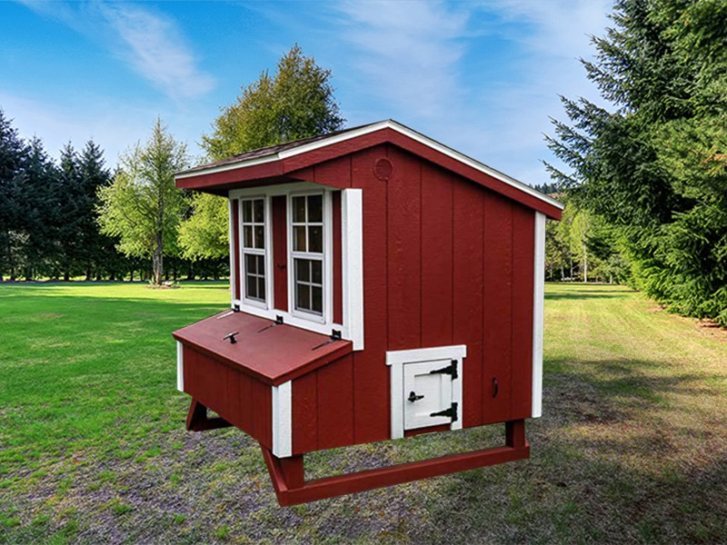 Standard Chicken Coop Made In Usa The Shed Yard